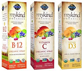 Organics spreje, tekuté vitamíny