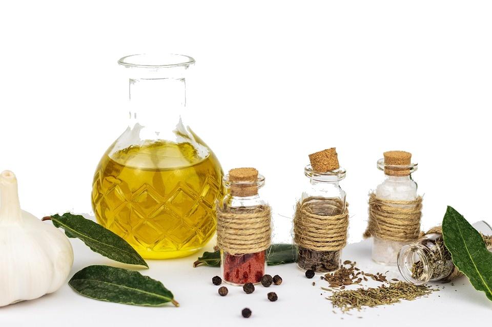 Terapeutické oleje a čaje