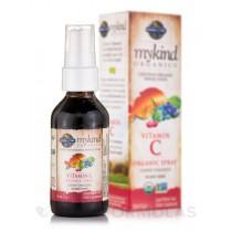 Mykind Organics Vitamín C - ve spreji s příchutí třešně a mandarinky, 58ml