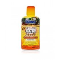 Vitamin Code - RAW tekutý multivitamín pomeranč a mango