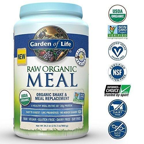 raw organic meal vanilka