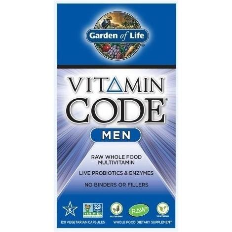 Vitamin Code Men - multivitamín pro muže, 120 kapslí