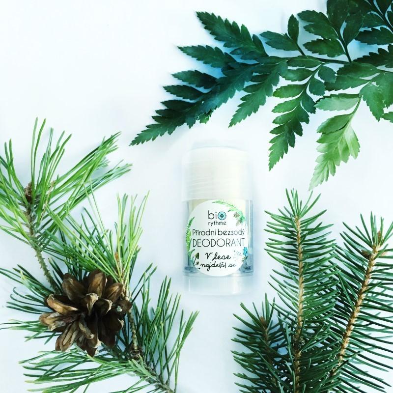Přírodní BEZSODÝ deodorant V lese najde(š) se (velký)