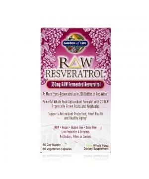 RAW Resveratrol 60 kapslí