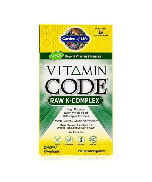 K-Komplex - RAW 60 veganských kapslí