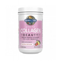 Collagen Beauty - Kolagen, jahoda a citrón, 270g