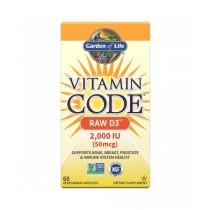 Vitamín D3 2000 UI, 60 kapslí