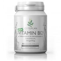 Vitamín B12, 1000 µg (metyl+adenosylkobalamin) - sublingvální, 60 tablet