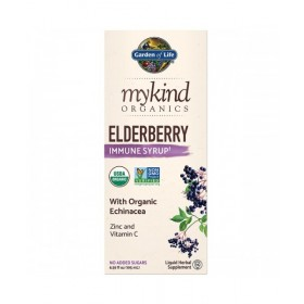 Mykind Organics Elderberry Syrup - Bezinka 195 ml