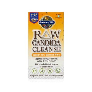 RAW Flora cleanse - očista trávicího traktu kandida 60 kapslí